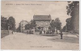 ACHERES AVENUE FELIX FAURE ET MAURICE BERTEAUX 1915 TBE - Acheres