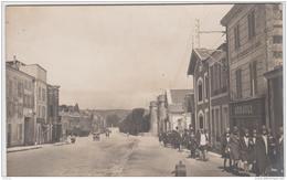 SAINT MAIXENT L'ECOLE PHOTO CARTE RUE DE LA TOUR CARREE ENVIRONS 1930 TBE - Saint Maixent L'Ecole