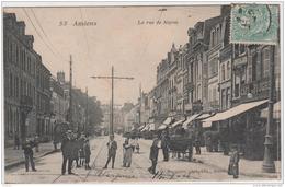 AMIENS LA RUE DE NOYON TBE - Amiens