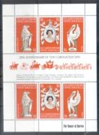 St Christopher Nevis Anguilla 1978 QEII Coronation 25th Anniversary MS MUH - St.Kitts And Nevis ( 1983-...)