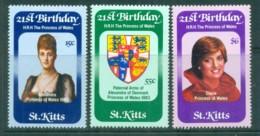 St Kitts 1982 Princess Diana 21st Birthday MUH - St.Kitts And Nevis ( 1983-...)