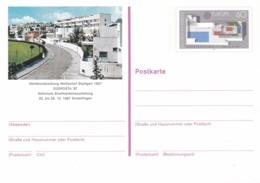 Germany Ganzsache/postal Stationary Europa CEPT W/print Südposta 87 - Mint  (G96-25) - Private Postcards - Used