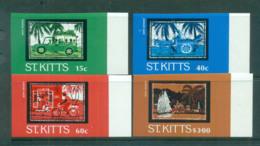 St Kitts 1985 Batik Designs IMPERF MUH Lot68632 - St.Kitts And Nevis ( 1983-...)