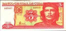 CUBA 3 PESOS De 2004 Pick 127  XF/SUP - Cuba