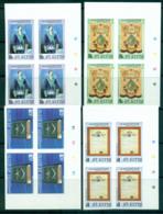 St Kitts 1985 Mt. Olive Masonic Lodge IMPERF Traffic Light/Cyl Bk 4 MUH Lot68470 - St.Kitts And Nevis ( 1983-...)