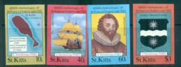 St Kitts 1985 Sir Francis Drake IMPERF MUH Lot68713 - St.Kitts And Nevis ( 1983-...)