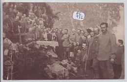 MILITARIA- CEREMONIE RELIGIEUSE AU 19 MO BATTAGLIONE M T- 1915- CARTE ITALIENNE - Guerra 1914-18