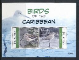 St Kitts 2010 Birds Of The Caribbean MS MUH - St.Kitts E Nevis ( 1983-...)