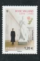 FRANCE 2018 ROSE VALLAND NEUF - France