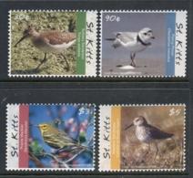 St Kitts 2010 Birds Of The Caribbean MUH - St.Kitts And Nevis ( 1983-...)