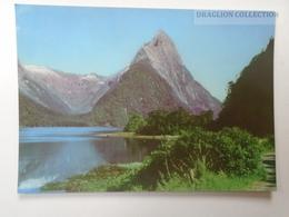 D161534 New Zealand - Mitre Peak - South Island - New Zealand