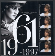 St Kitts 2012 Princess Diana In Memoriam 15th Anniv. MS MUH - St.Kitts And Nevis ( 1983-...)