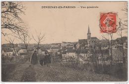 FONTENAY EN PARISIS VUE GENERALE TBE - Autres Communes