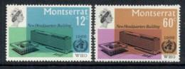Montserrat 1966 WHO MUH - Montserrat