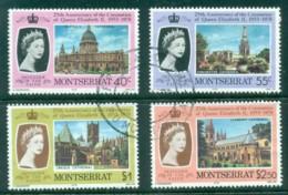 Montserrat 1978 QEII Coronation 25th Anniv. FU - Montserrat