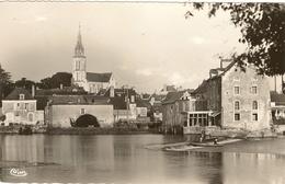 49 -  Cpsm Pf - GREZ NEUVILLE - L'Eglise Et Le Moulin 161 - Frankreich