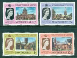Montserrat 1978 QEII Coronation, 25th Anniversary , Royalty MUH - Montserrat