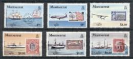 Montserrat 1980 London '80 Stamp Ex, Ships MUH - Montserrat