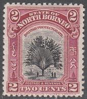 NORTH BORNEO      SCOTT NO.  168     MINT HINGED     YEAR  1926 - North Borneo (...-1963)