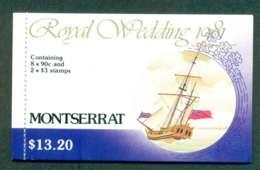 Montserrat 1981 Charles & Diana Wedding Booklet Lot45345 - Montserrat