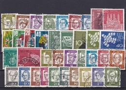 Bundesrepublik, Kpl. Jahrgang1961, Gest. (T 8447) - [7] Federal Republic
