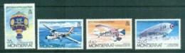 Montserrat 1983 Manned Flight Bicentenary SPECIMEN MUH - Montserrat