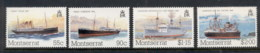 Montserrat 1984 Packet Boats MUH - Montserrat