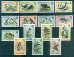 Montserrat 1984 Pictorials, Birds MUH - Montserrat