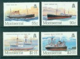 Montserrat 1984 Ships, Packet Boats MUH - Montserrat