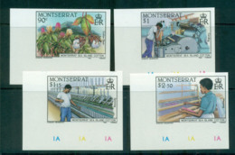 Montserrat 1985 Cotton Industry IMPERF MUH Lot68666 - Montserrat