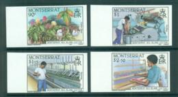 Montserrat 1985 Cotton Industry IMPERF MUH Lot68670 - Montserrat