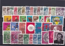 Bundesrepublik, Kpl. Jahrgang1966, Gest. (T 8450) - [7] Federal Republic