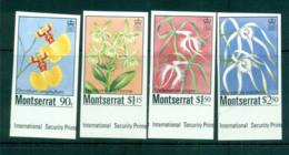 Montserrat 1985 Indigenous Orchids IMPERF MUH Lot68799 - Montserrat