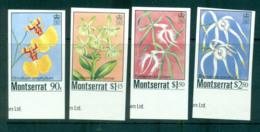 Montserrat 1985 Indigenous Orchids IMPERF MUH Lot68800 - Montserrat