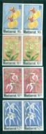 Montserrat 1985 Indigenous Orchids IMPERF Pairs MUH Lot68797 - Montserrat
