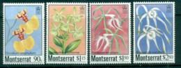 Montserrat 1985 Indigenous Orchids MUH - Montserrat