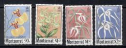 Montserrat 1985 Indigenous Orchids, Flowers MUH - Montserrat