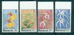 Montserrat 1985 Orchids IMPERF MUH Lot68576 - Montserrat