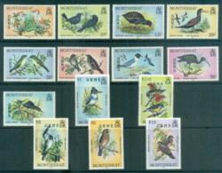 Montserrat 1985 Pictorials, Birds,Officials, Opr OHMS MUH - Montserrat