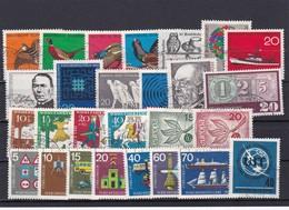 Bundesrepublik, Kpl. Jahrgang1965, Gest. (T 8449) - [7] Federal Republic