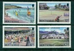 Montserrat 1986 Tourism, Sailing, Golf MUH - Montserrat