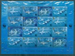 Montserrat 1999 WWF Hammerhead Shark Sheetlet MUH - Montserrat
