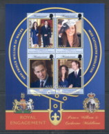 Montserrat 2011 Royal Engagement William & Kate $2.75 MS MUH - Montserrat