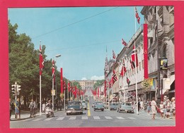Modern Post Card Of Karl Johansgate Mot Slottet,Oslo,Norway ,B27. - Norway