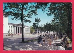 Modern Post Card Of Karl Johans Gate Med Universitetet,Oslo,Norway ,B27. - Norway
