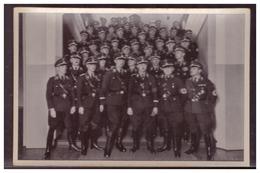 Dt.-Reich (005713) Propaganda Sammelbild, Deutschland Erwacht, Bild 185, SS Führer Himmler Mit Den Führern Der SS - Deutschland
