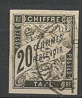 Taxe   N° 8 CACHET BRAZZAVILLE CONGO TB - Französisch-Kongo (1891-1960)