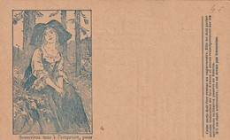 Rare Carte Postale Correspondance Militaire Franchise Militaire Alsacienne - 1914-18
