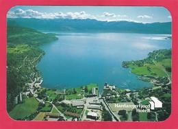 Modern Post Card Of Hotel,Hardanger Fjord, Hordaland, Norway ,B27. - Norway