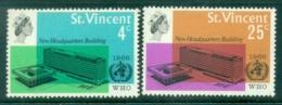 St Vincent 1966 WHO Headquarters, Geneva MUH - St.Vincent (1979-...)